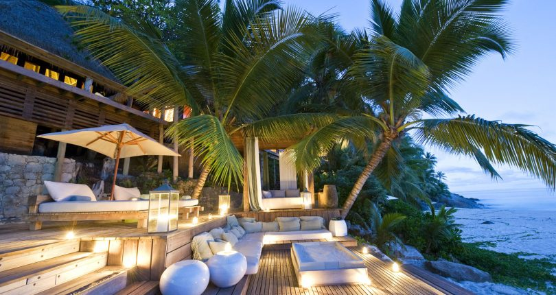 A survey ranks a luxury hotel in Seychelles as the most expensive in the world